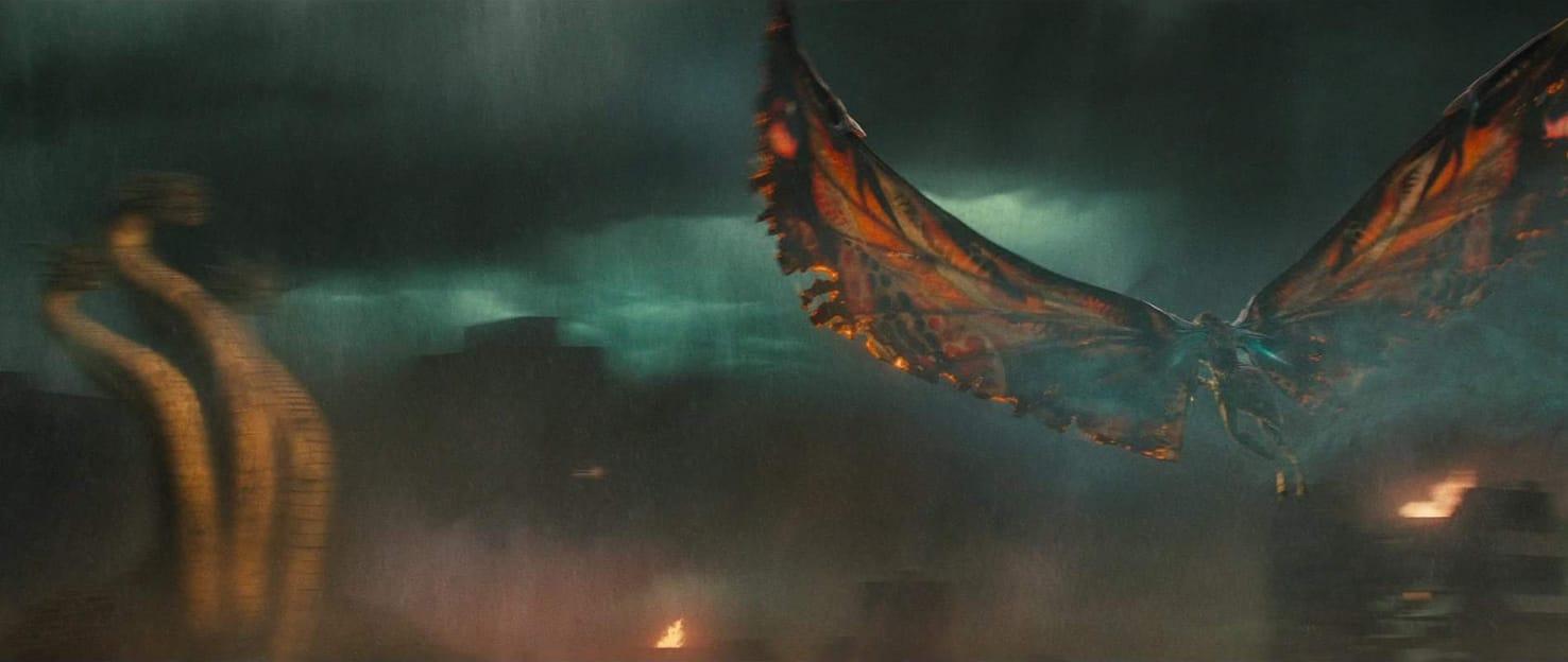 Mothra vs Ghidorah